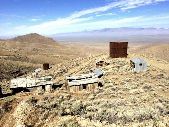 20th Century mining camp, Nevada. Photo by Quinn Kayser-Cochran